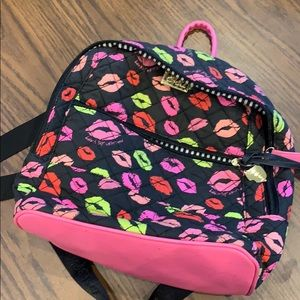 Adorable KISS 💋 Betsey Johnson Backpack